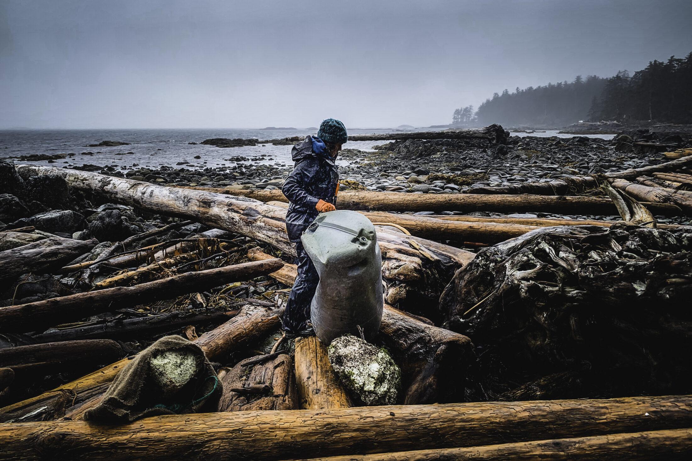 Moving debris, Clean Coast, Clean Waters Initiative