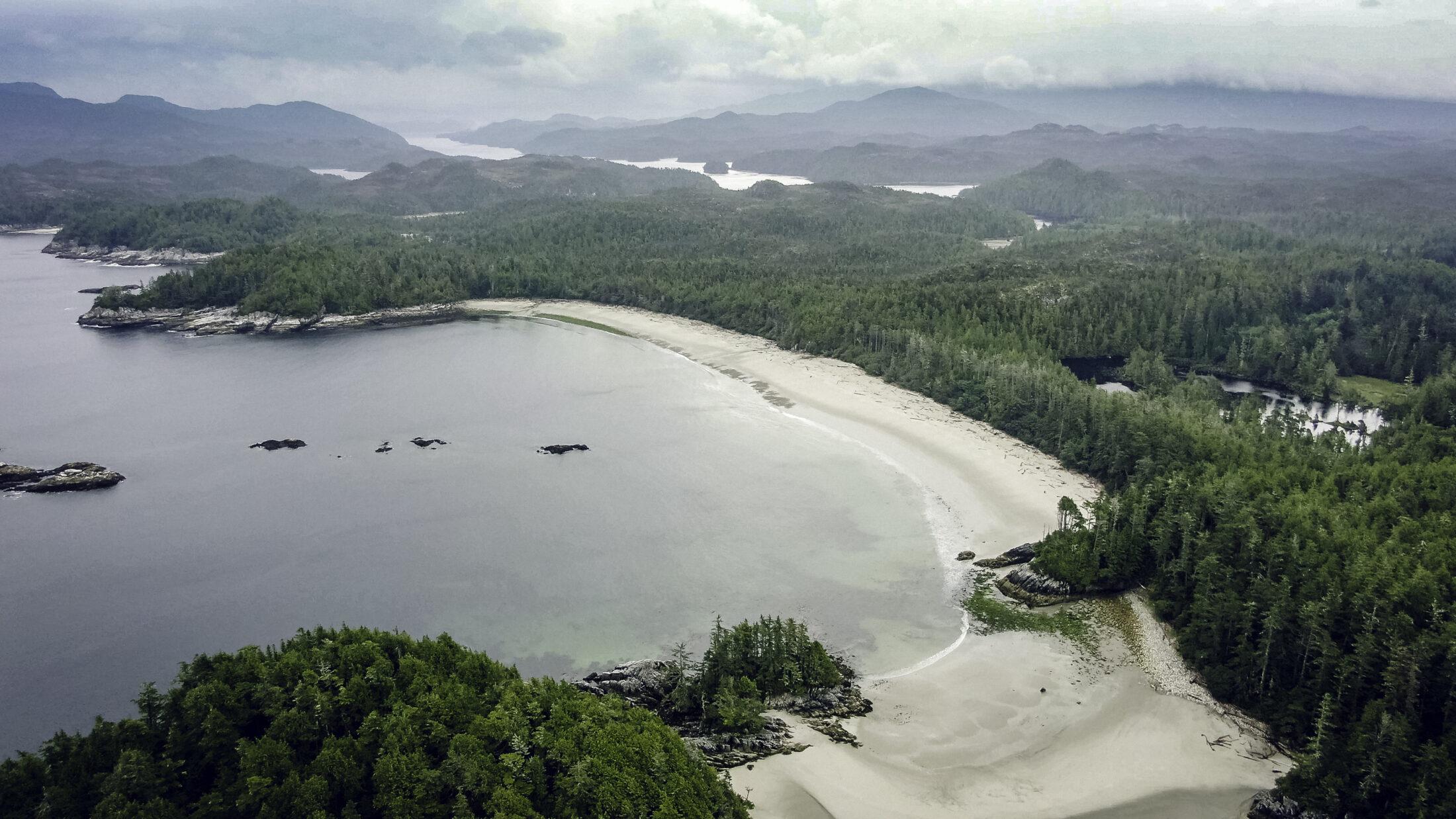 West Beach Calvert Island