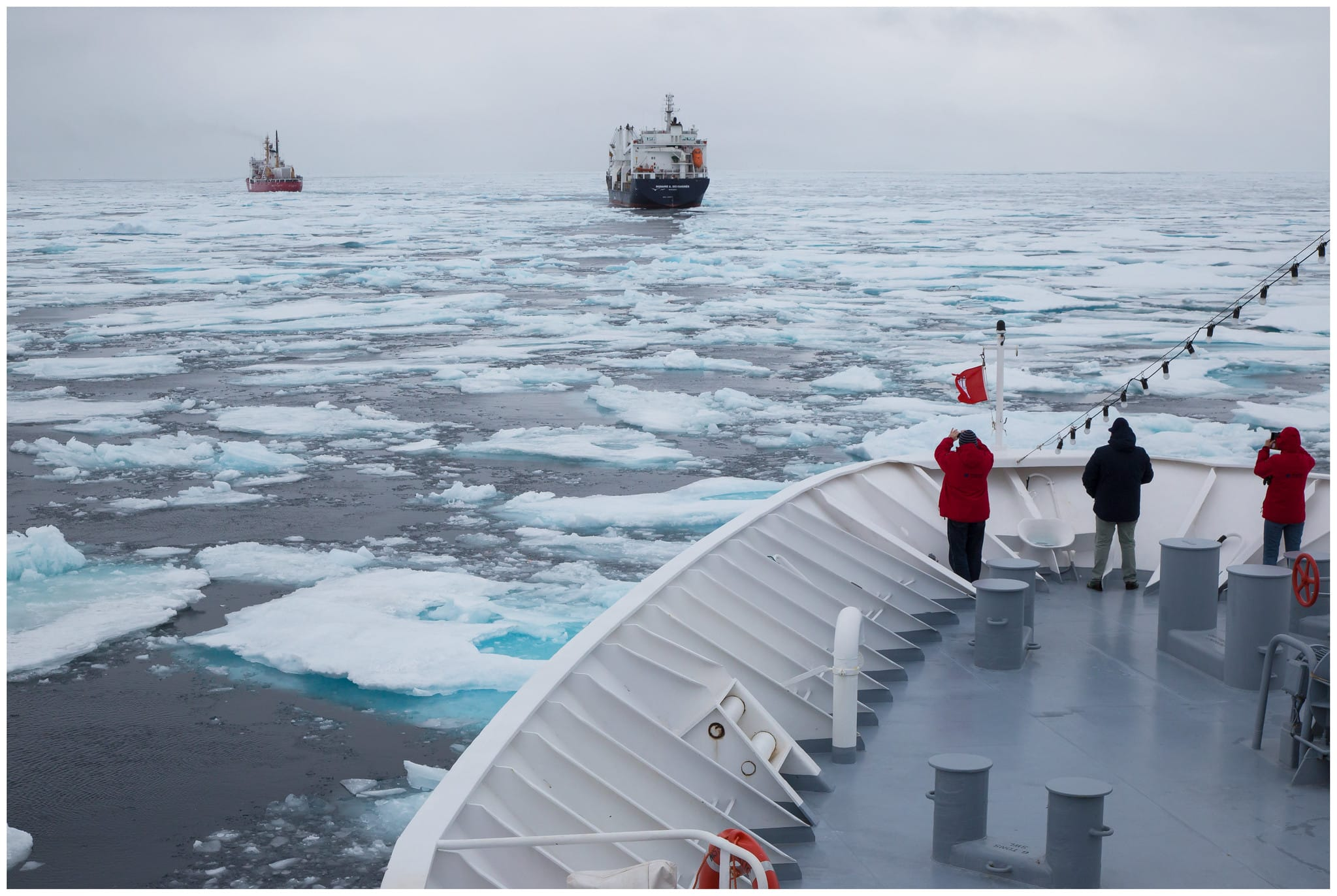 Arctic boat traffic