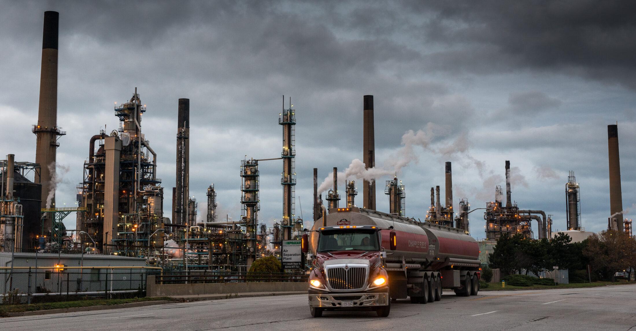 Sarnia Ontario Chemical Valley