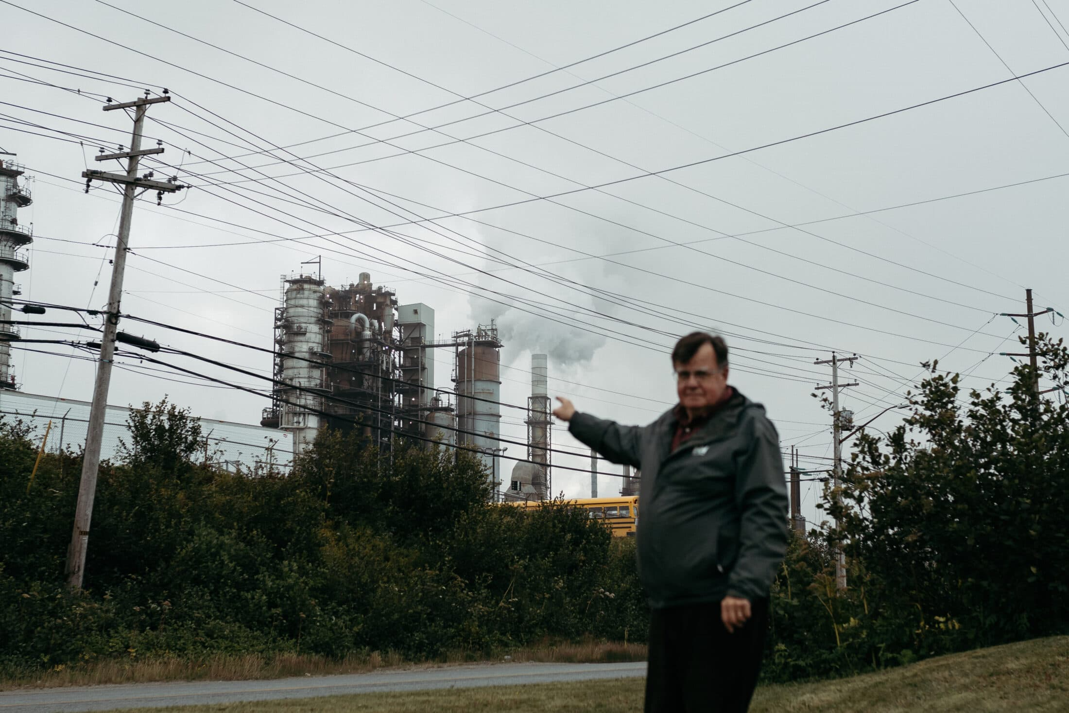 Dalzell air pollution Irving Oil refinery