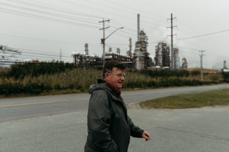 Gordon Dalzell Irving Oil refinery