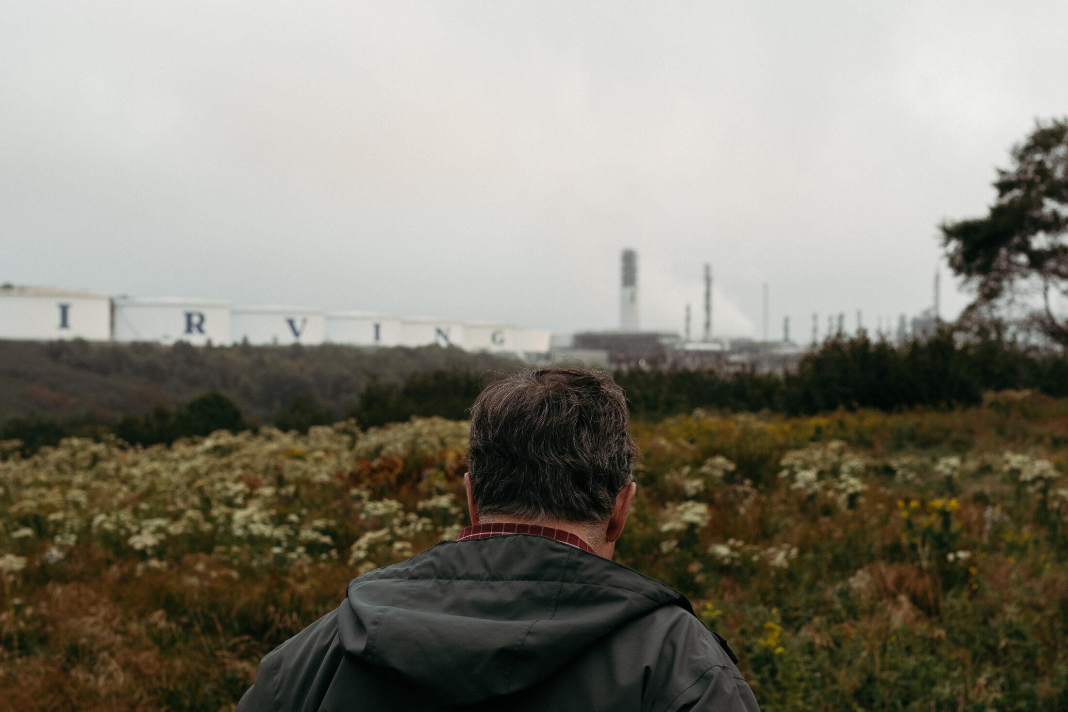 Gordon Dalzell Irving Oil Refinery Saint John New Brunswick