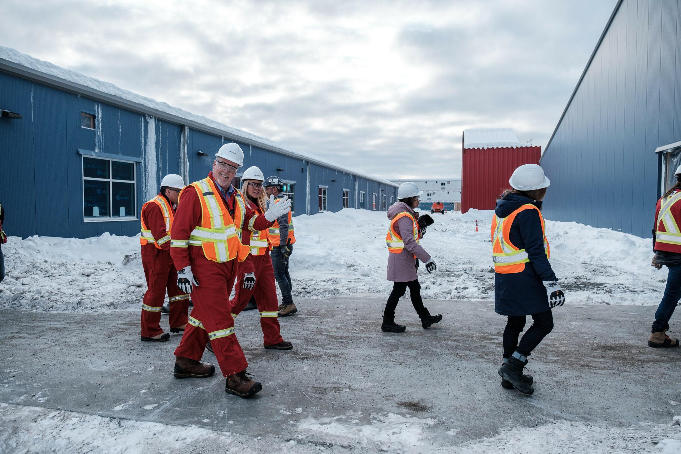 John Horgan tours LNG Canada
