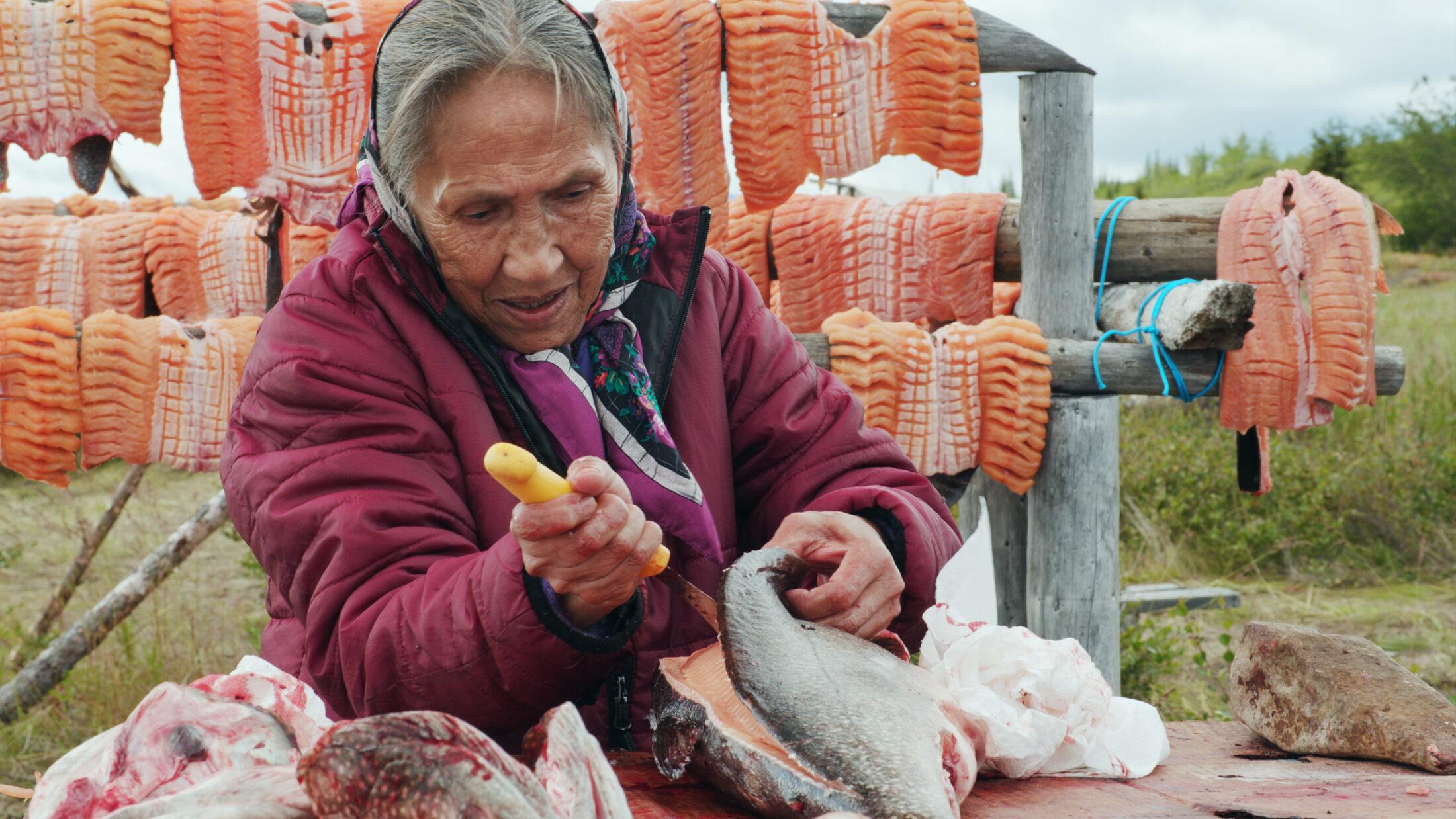Sahtúot'ine Elder Camilla Tutcho