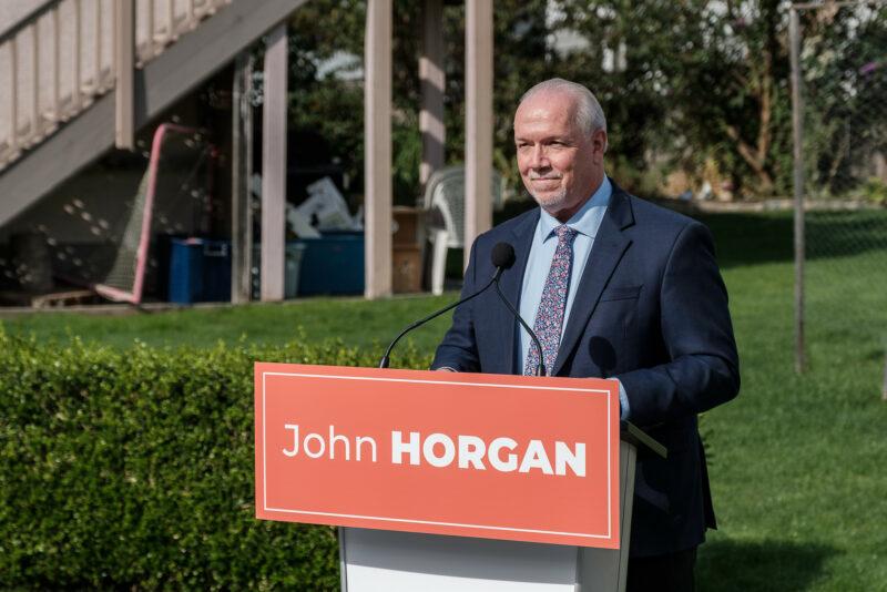 John Horgan BC NDP