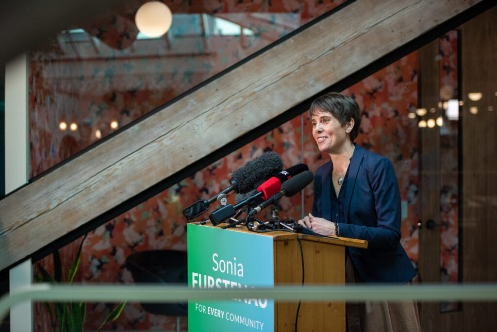 BC Green Leader Sonia Furstenau