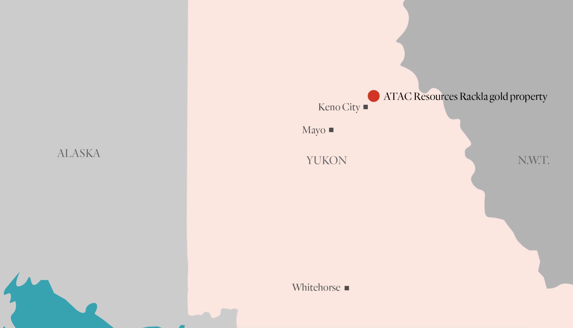 ATAC Resources Yukon road Rackla