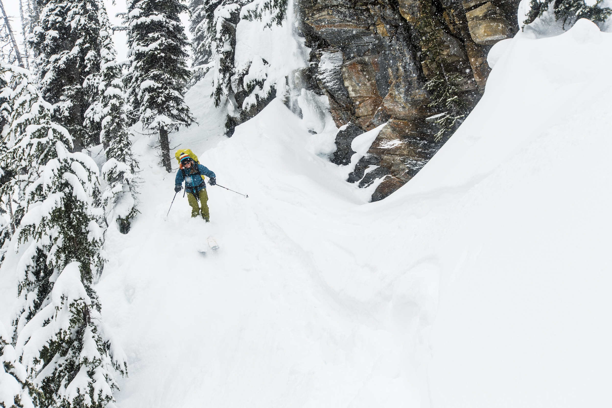 Backcountry skiing Zincton David Moskowitz