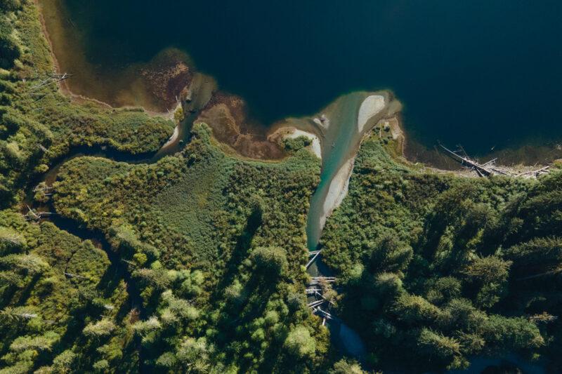 The Oktwanch River and upper Muchalat River