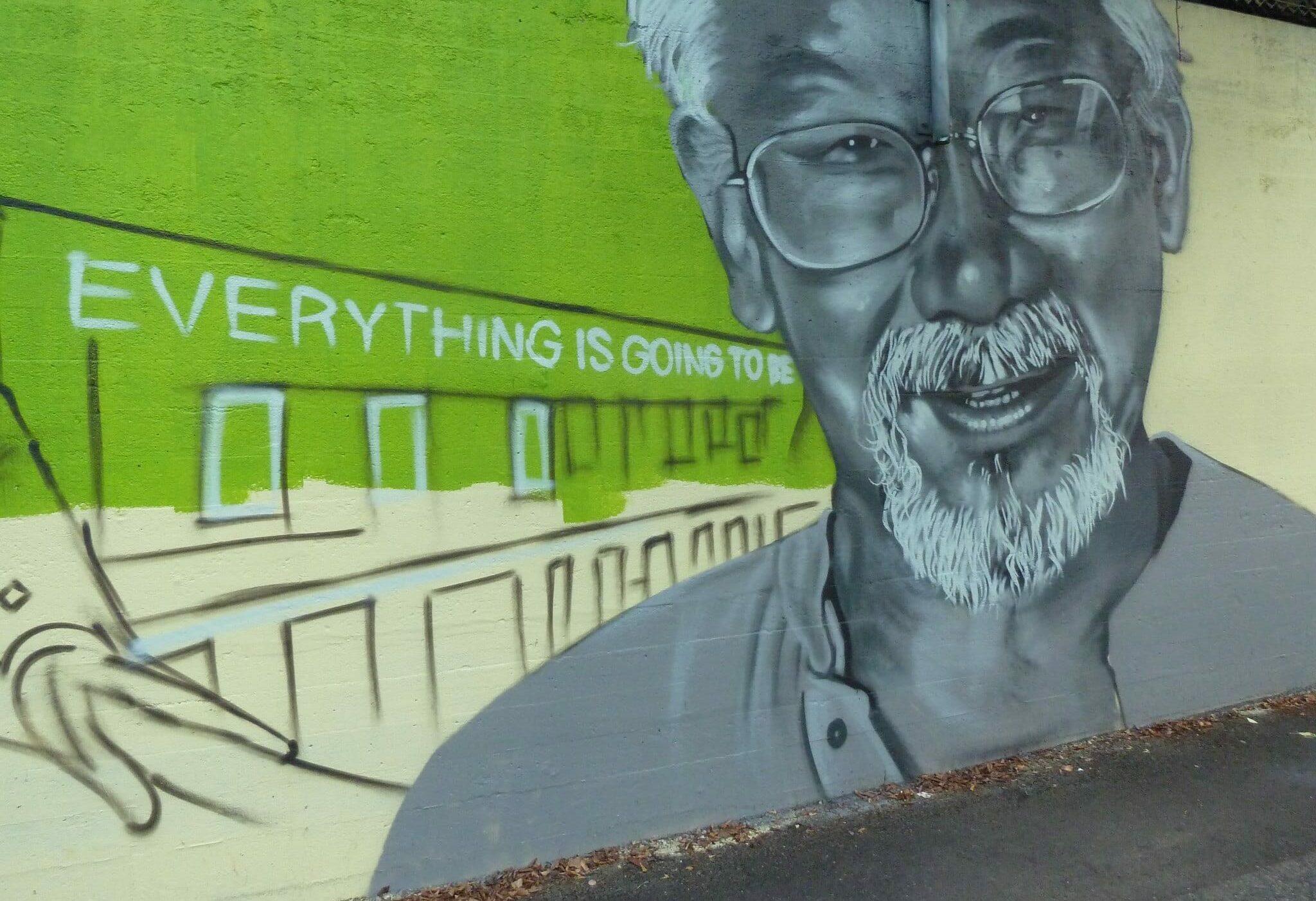 David Suzuki mural