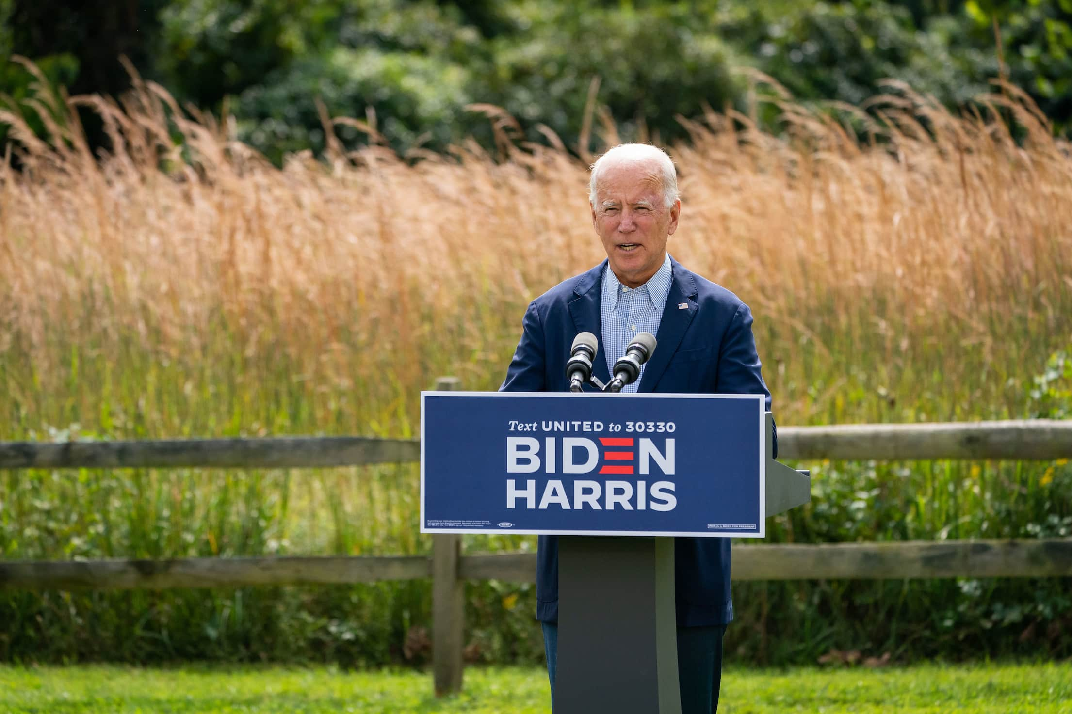 Joe Biden climate change remarks