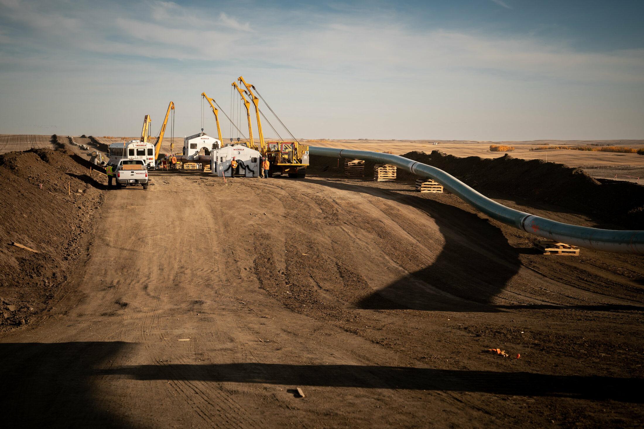 Biden climate change plans affect Keystone XL pipeline construction in Alberta
