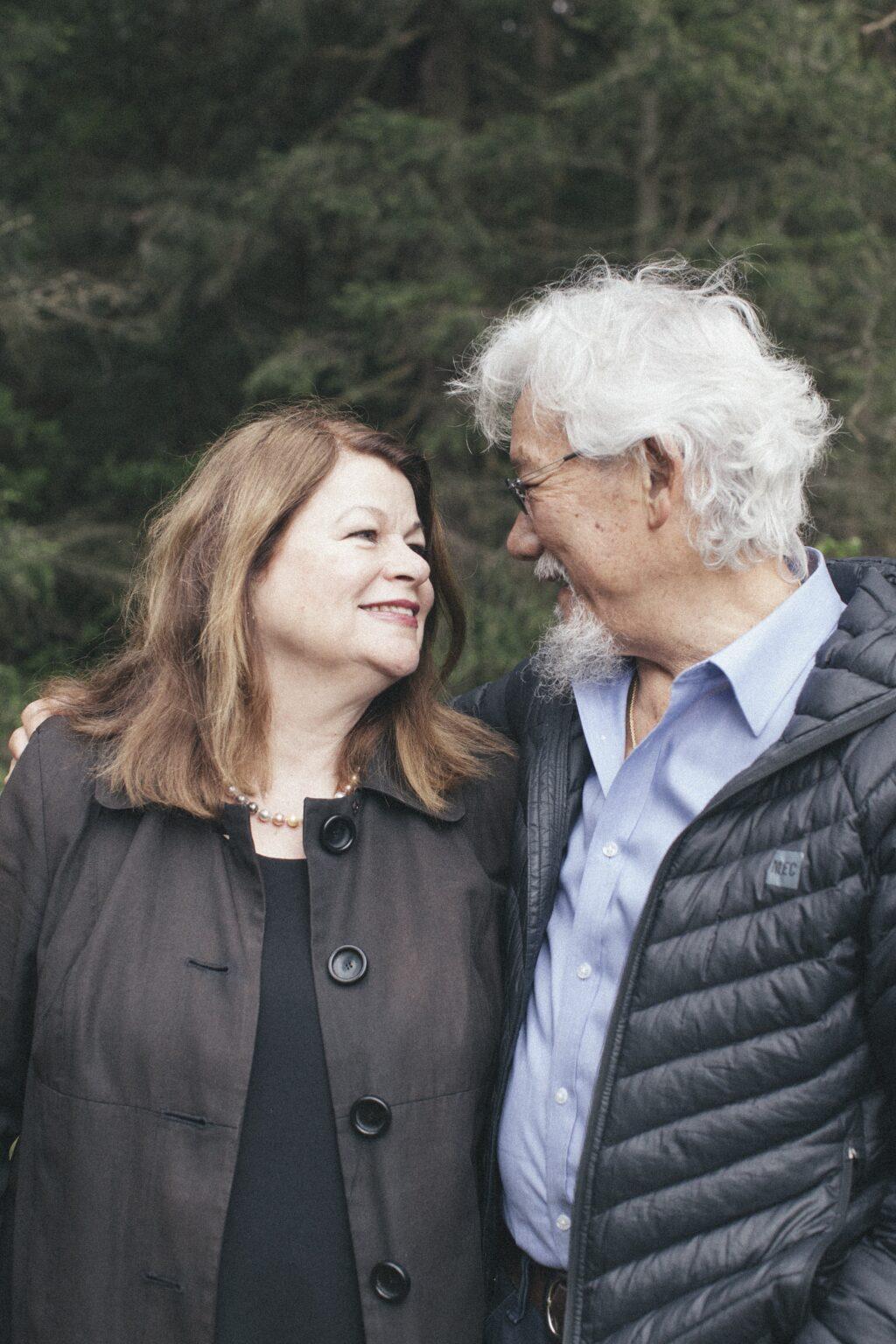 Tara Cullis and David Suzuki