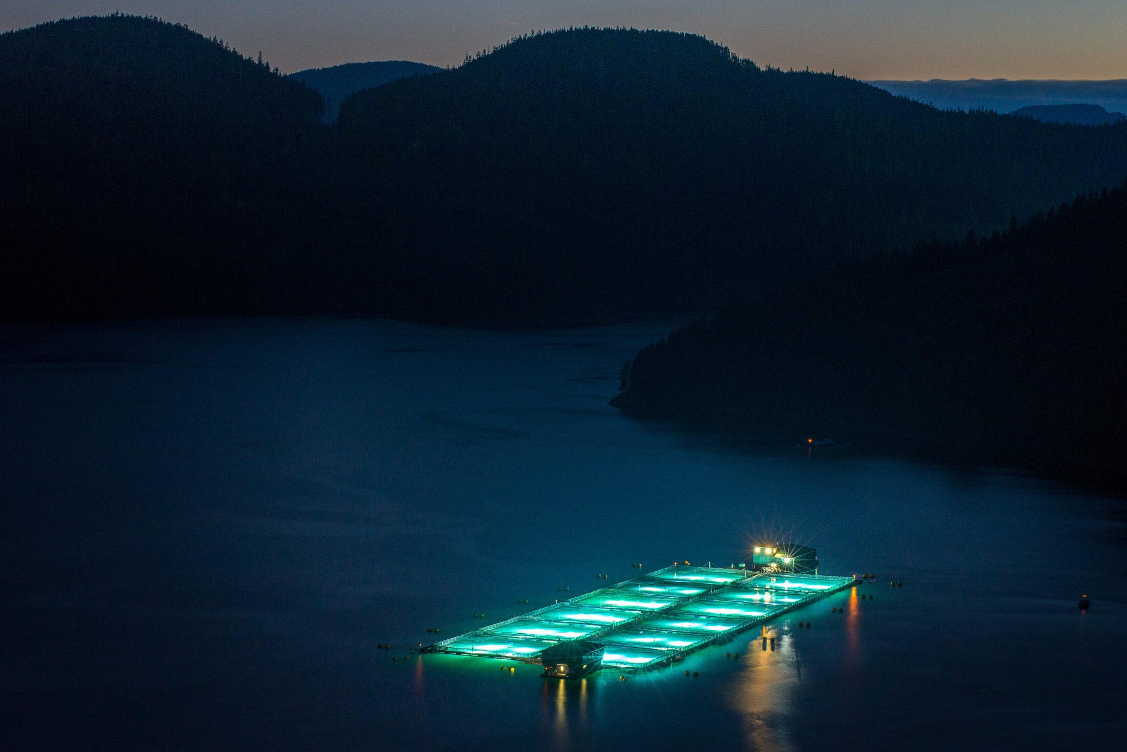B.C. salmon farm
