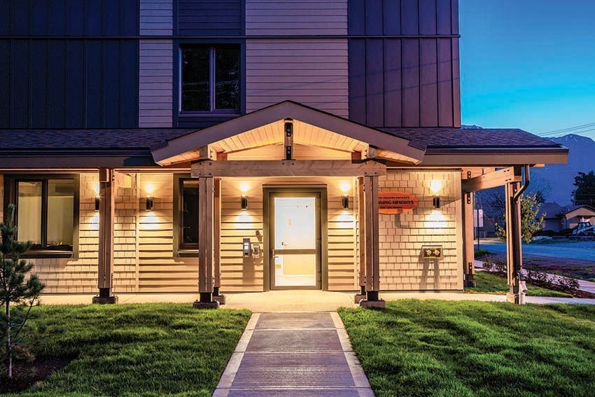 passive house in Smithers, B.C.