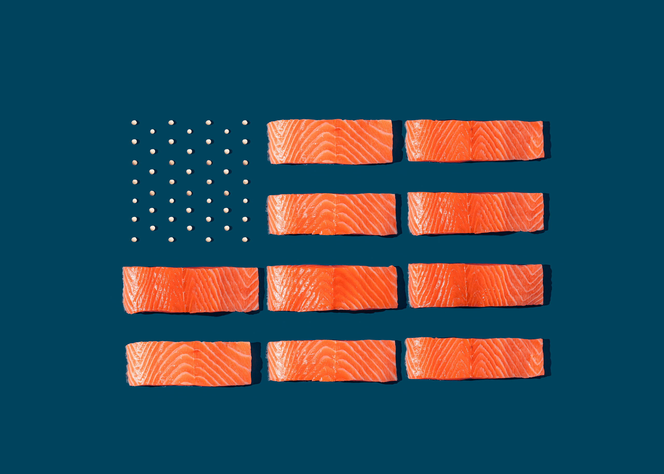The rise of land salmon