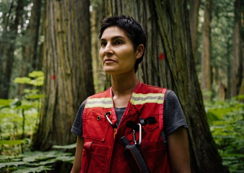 Michelle Connolly Conservation North Seeing Red old-growth forest map