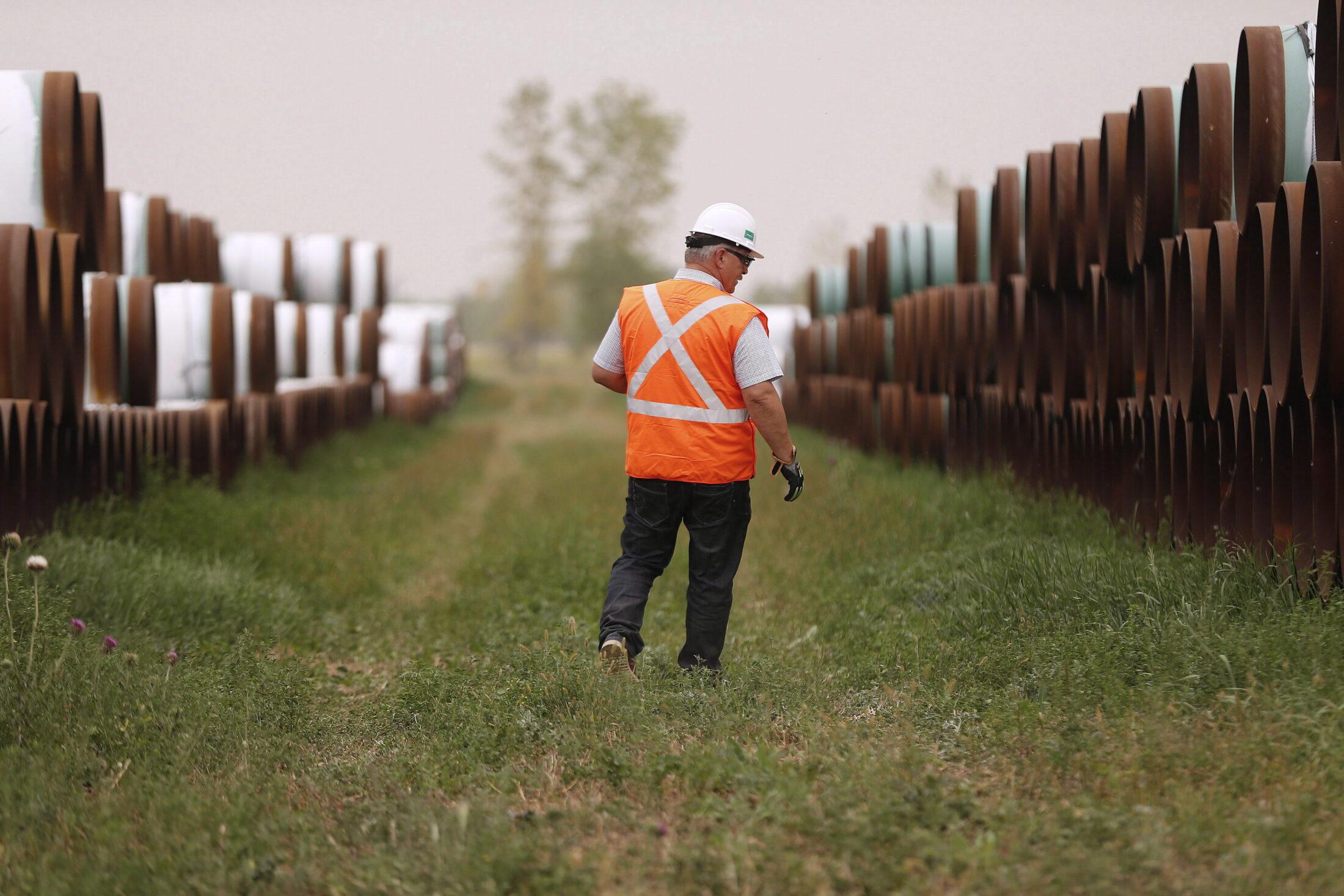 Press Tour of Enbridge Pipeline Construction