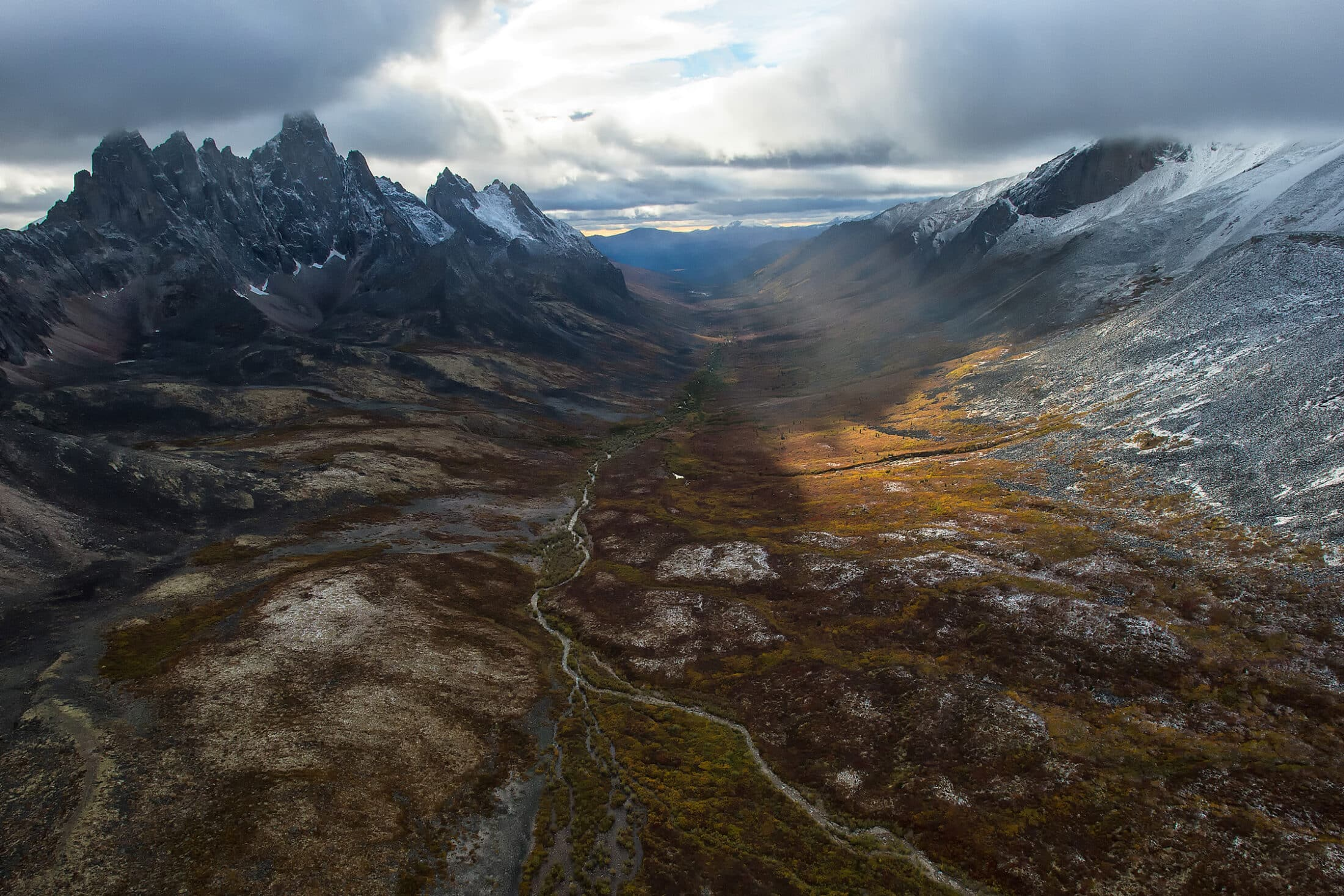 aerial view of tombstone territorial park