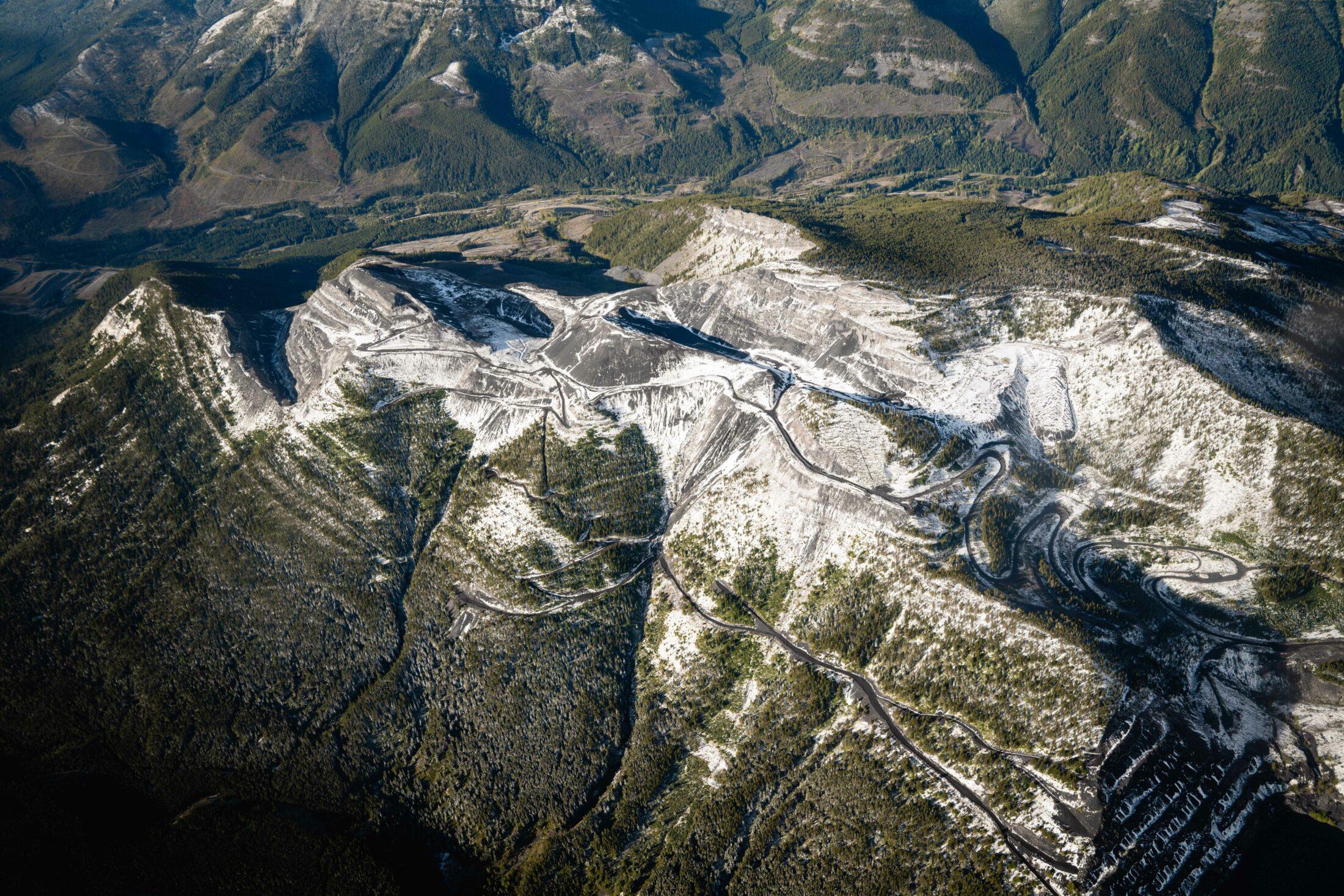 Tent Mountain mine