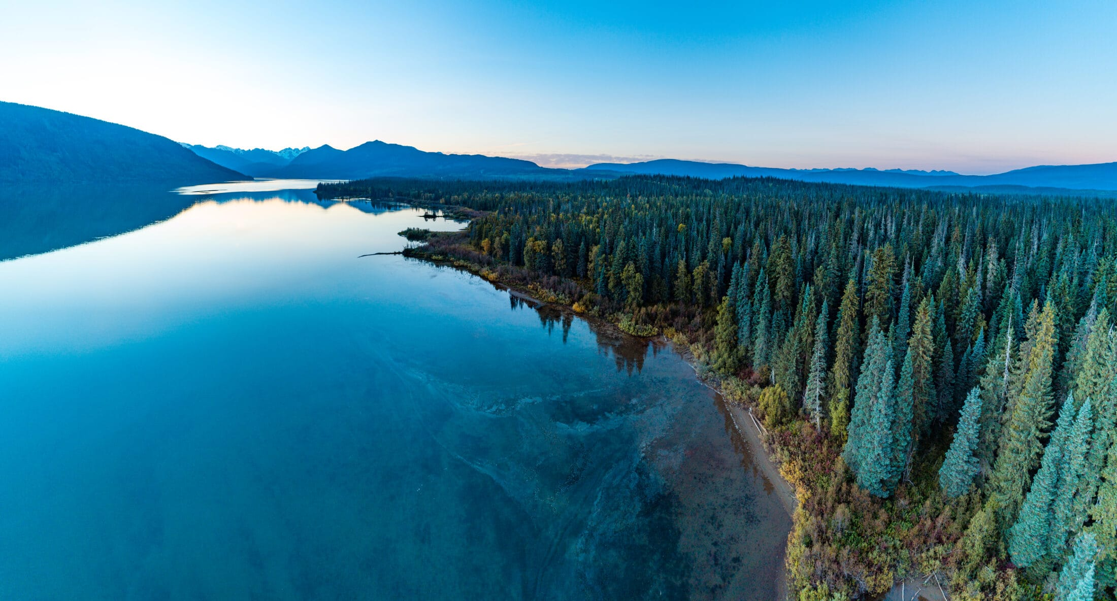 Meziadin Lake.