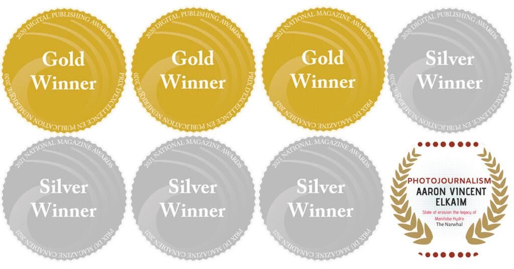 DPA, NMA and CAJ award seals