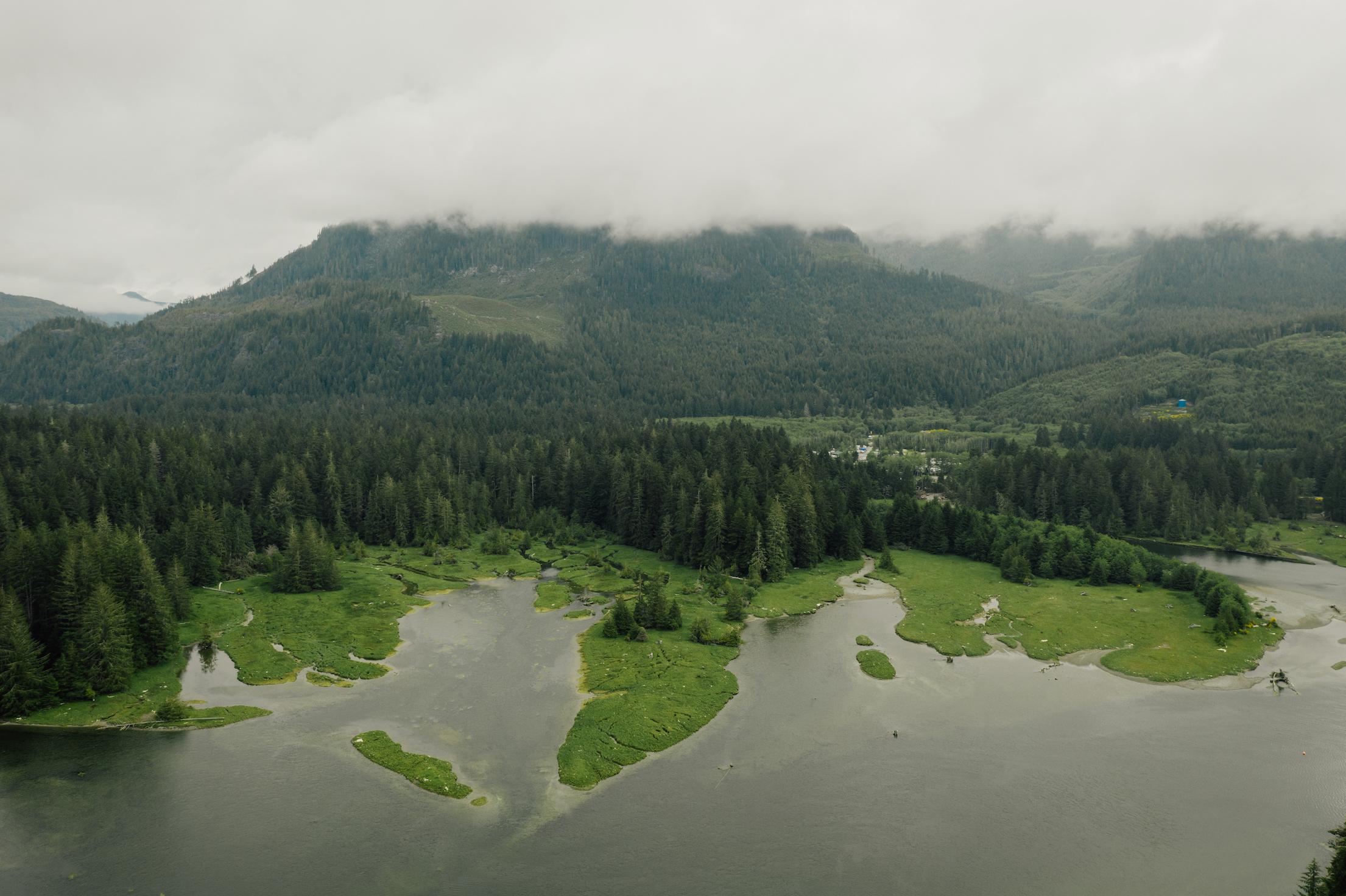 A view of Pacheedaht territory