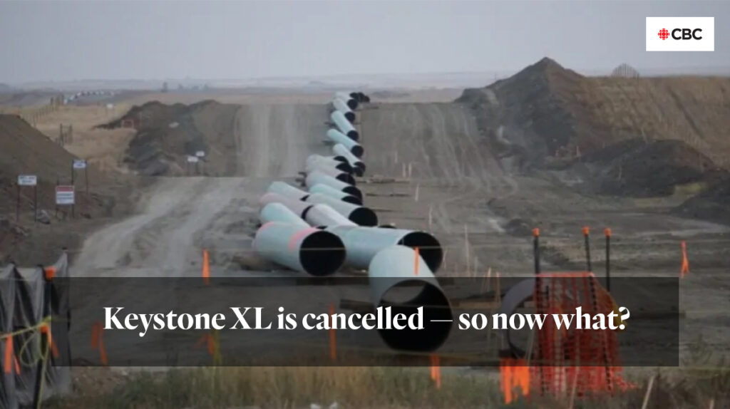 """""""Keystone XL is cancelled — so now what?"""""""