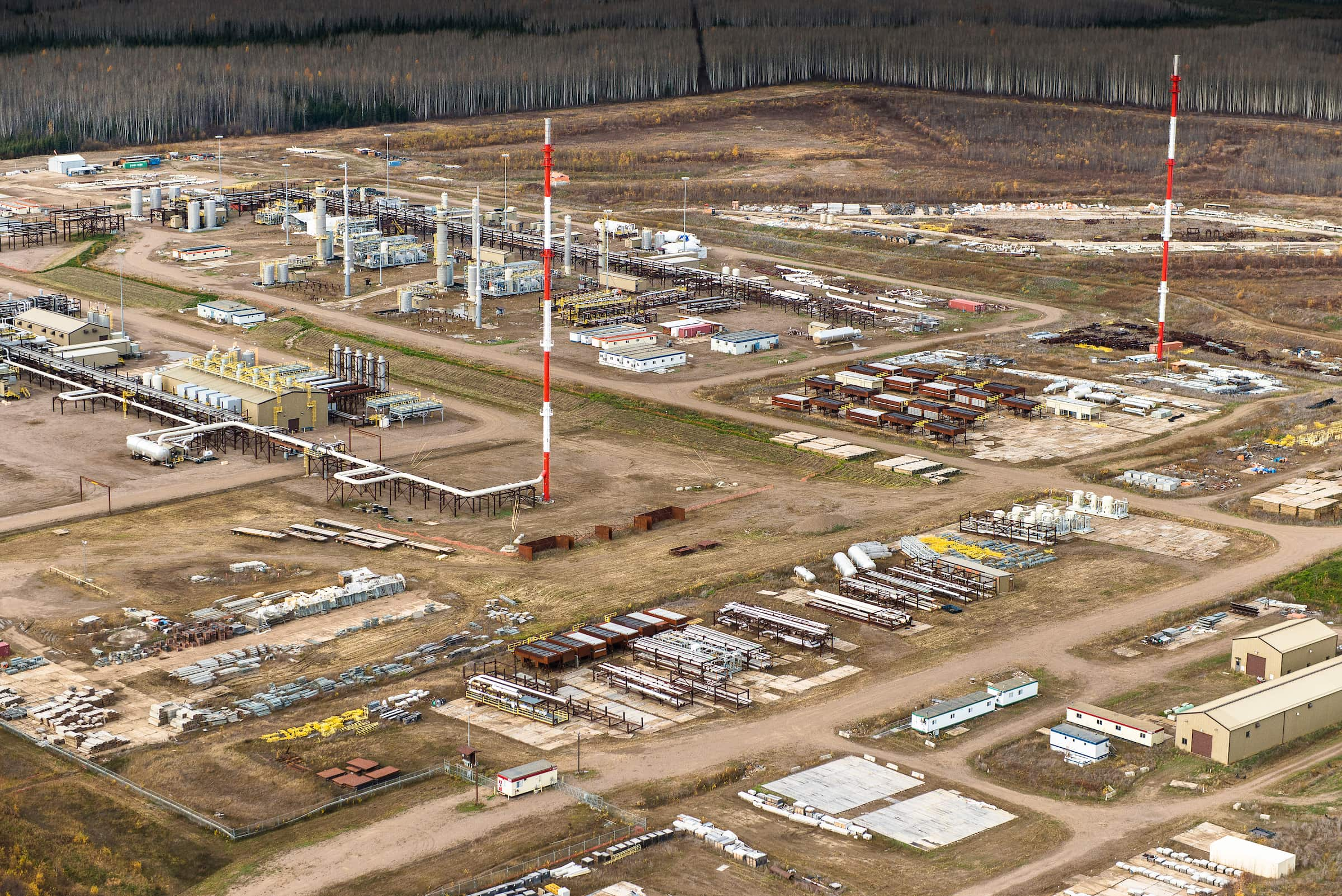 Cabin Gas plant, Fort Nelson B.C.