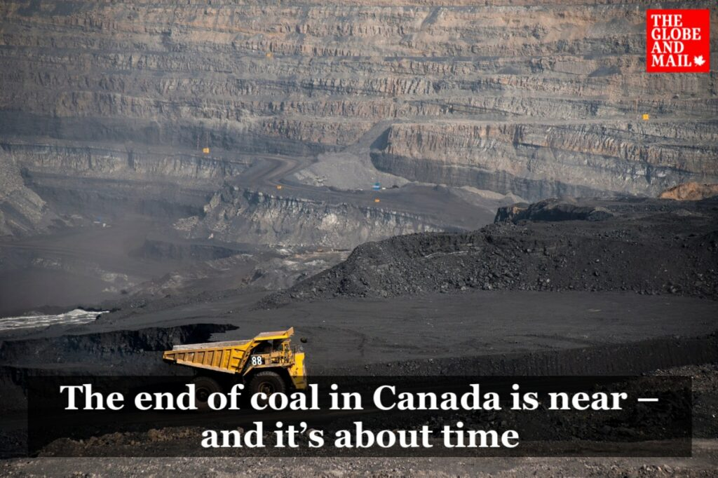 """""""The end of coal in Canada is near — and it's about time"""""""