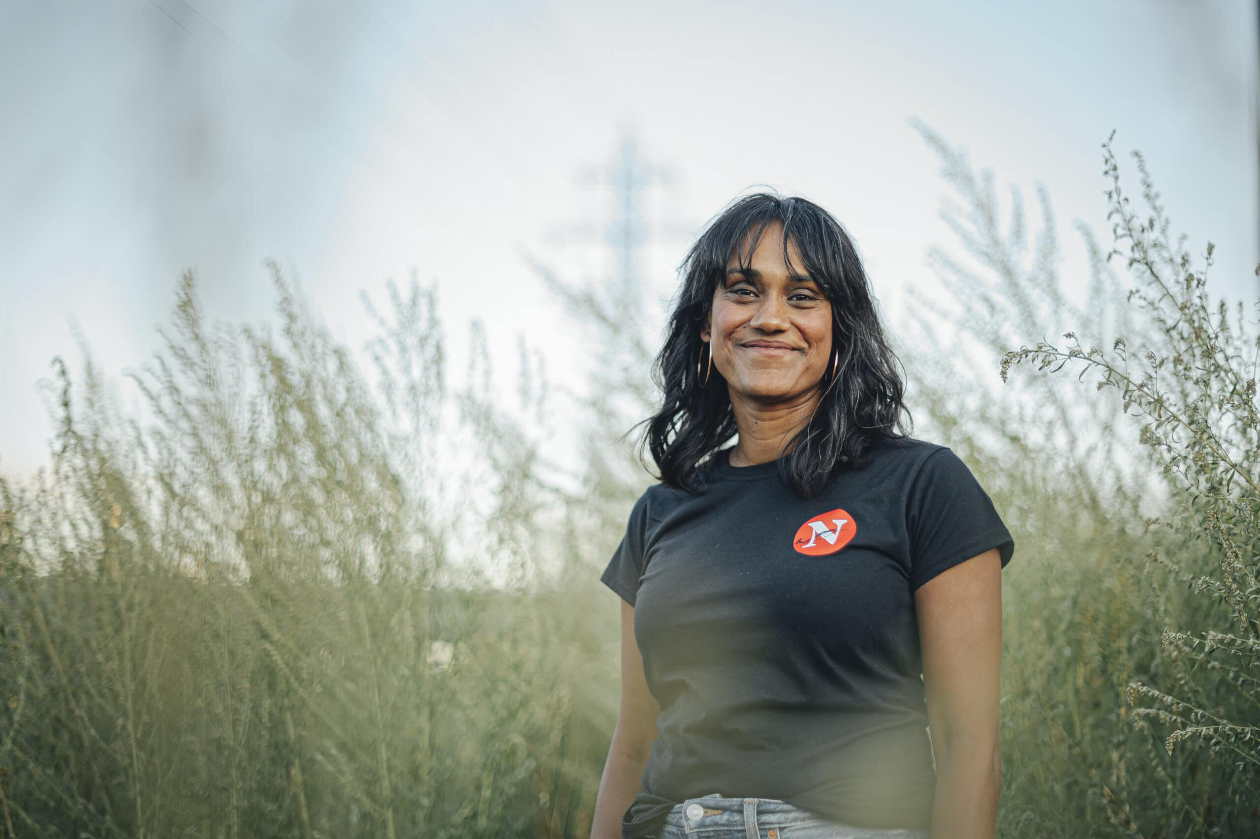 Denise Balkissoon poses for a portrait in Toronto