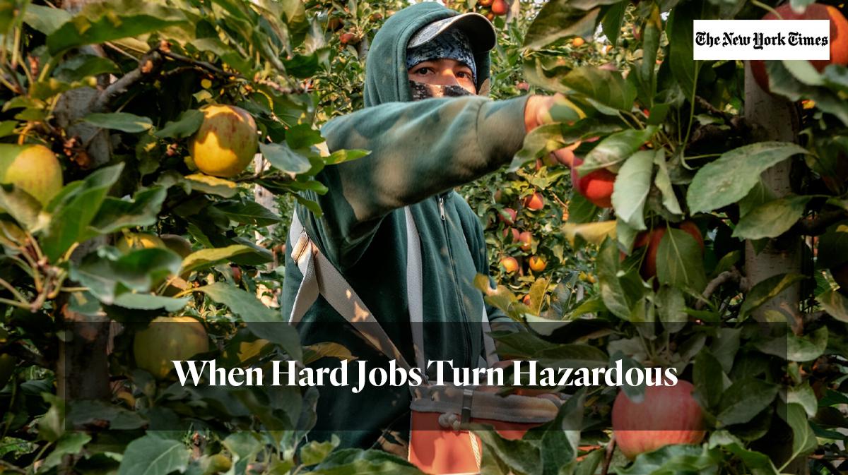 """""""when hard jobs turn hazardous"""""""