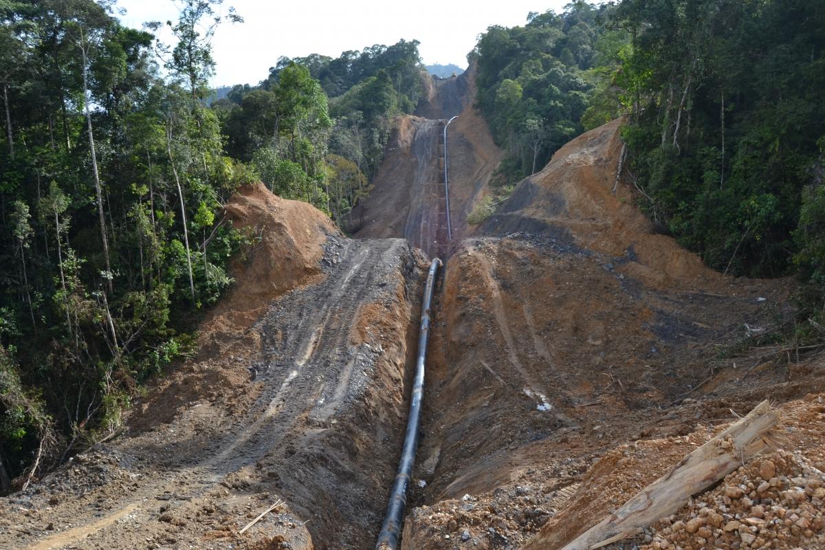 Petronas pipeline