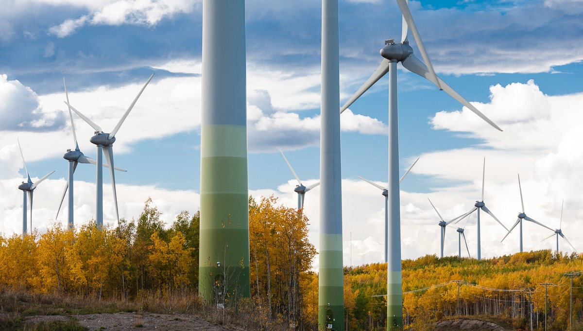 Bear Mountain wind farm