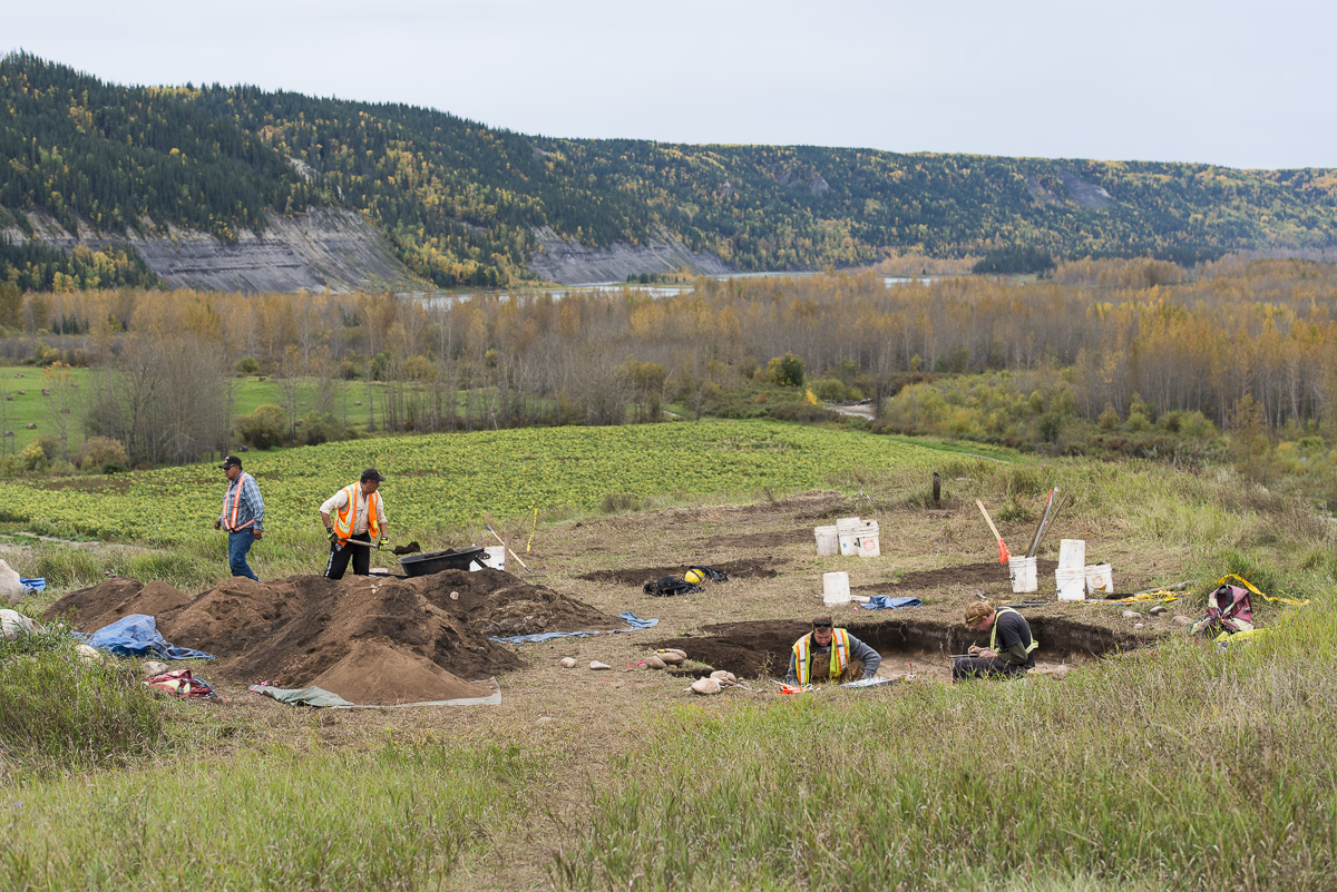 Archaeologists in the Peace Valley