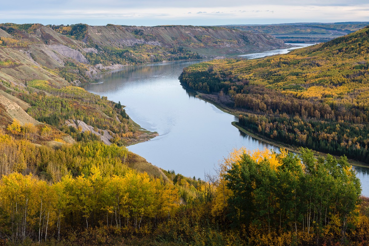 Peace Valley, threatened by Site C dam
