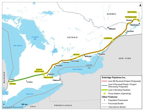 enbridge pipeline essay